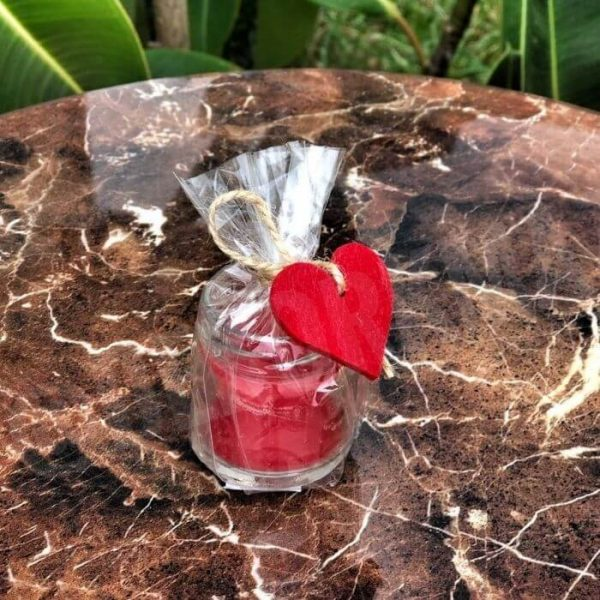 Red Love-Candle